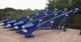 Convoyeur sur roues  Edge MS50 distributeur agrée France Koncasstoo